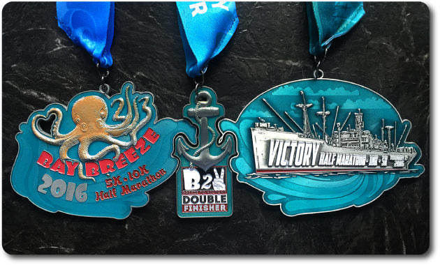 2016 Bay to Victory Mega Medal