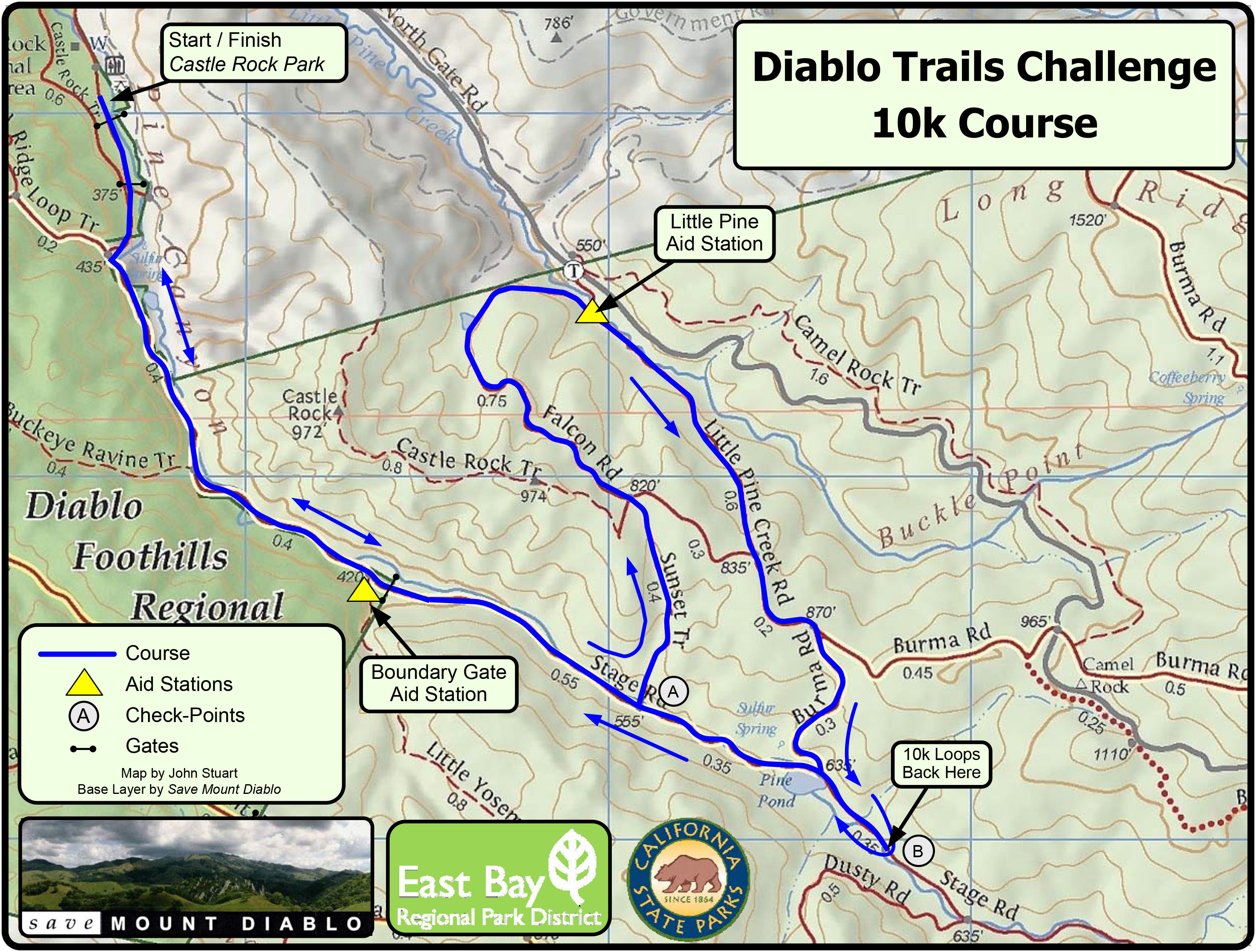 DTC10Kcourse map
