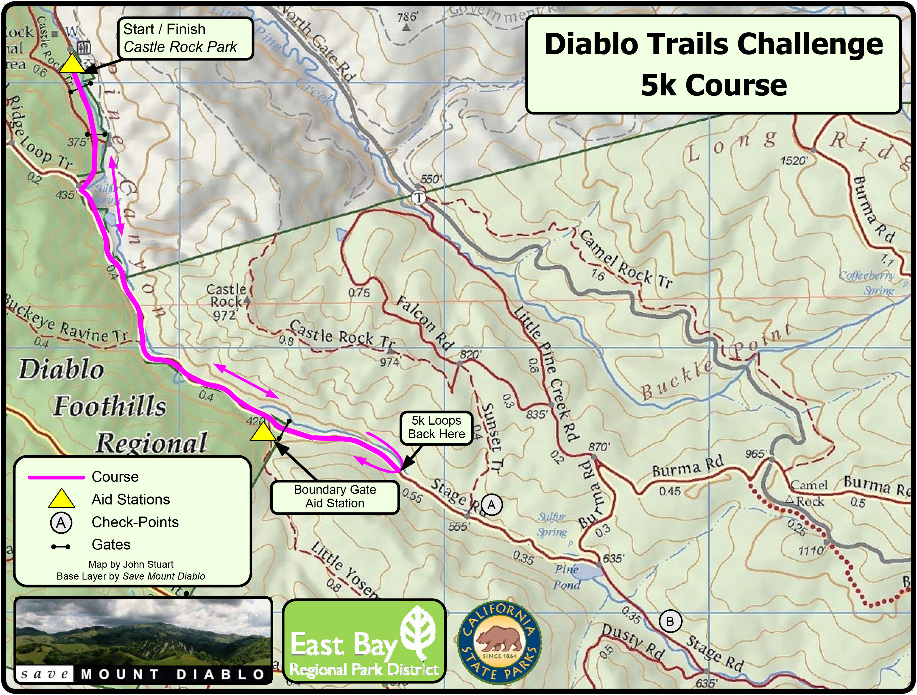 DTC5Kcourse map