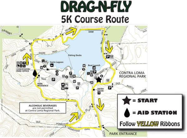 Drag-N-Fly-5K-Course-Map