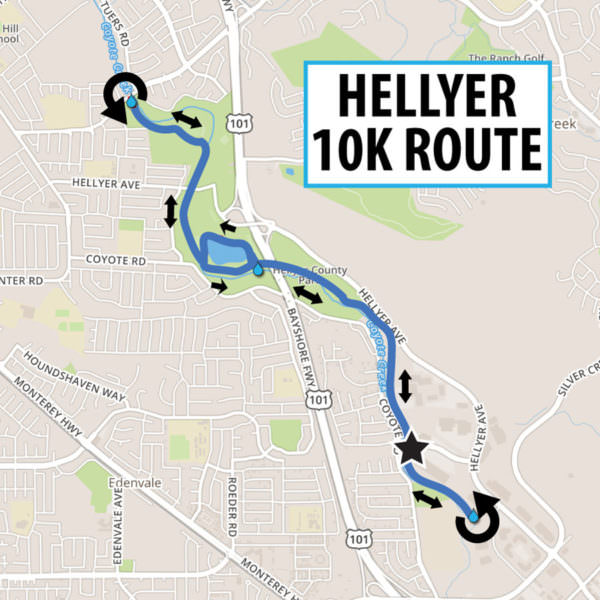 hellyer-10K-route