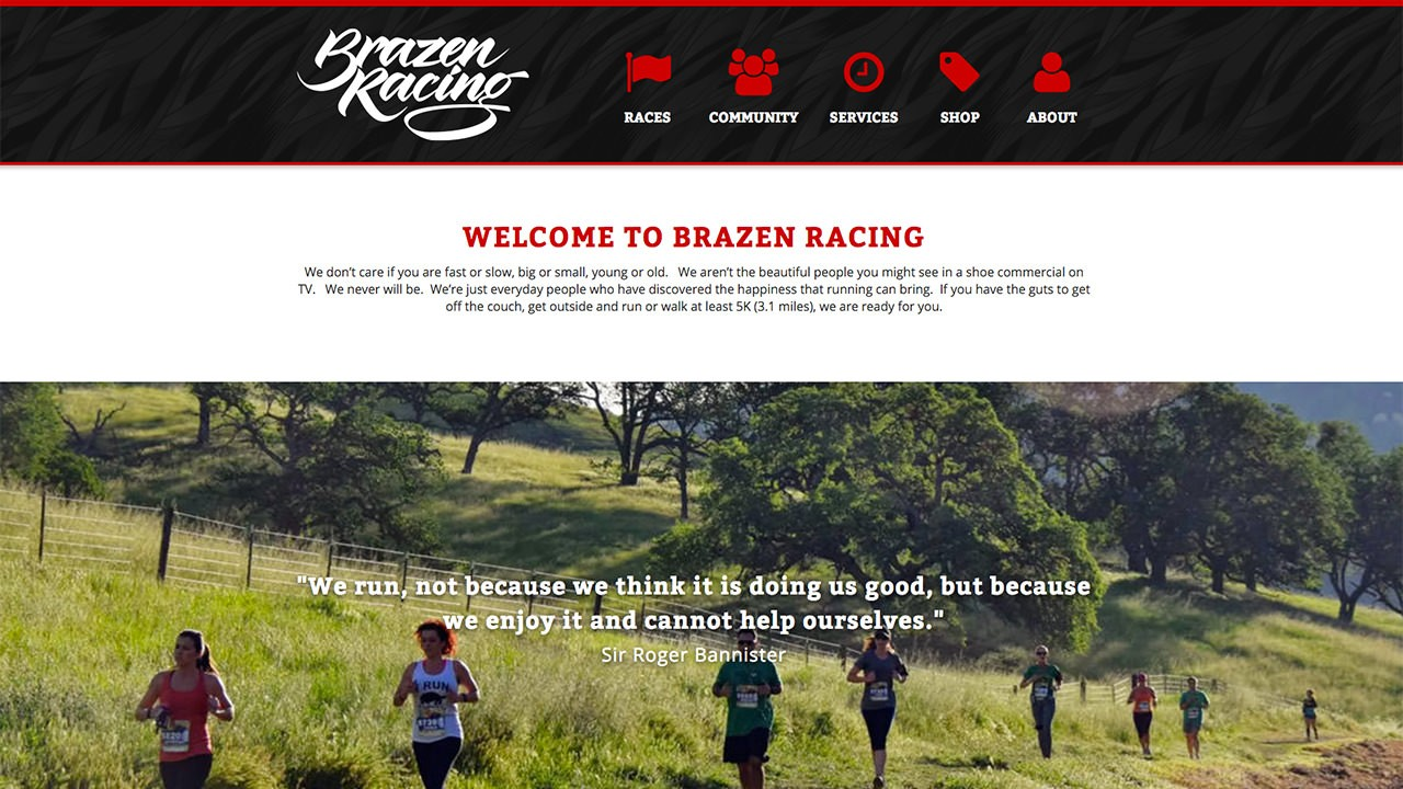 New Brazen Website