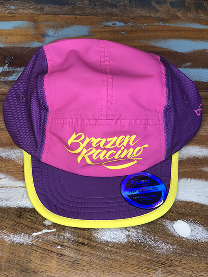 Running Hat (Pink Purple)  cf13fd040a3